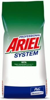Стиральный концентрированный порошок Ariel Professional BETA 15 кг
